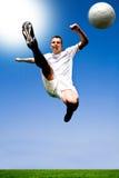 Fußballspieler Stockfotos