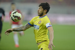 Fußballspieler - Cristian Tanase lizenzfreie stockfotos