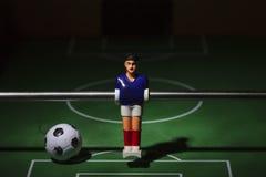 Fußballspieler foosball lizenzfreie stockfotografie
