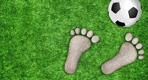 Fußballspielhintergrund, Weltmeisterschaft Lizenzfreies Stockbild
