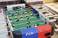 Fußballspielmaschine Lizenzfreie Stockfotos