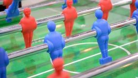 Fußballspielnahaufnahme, entartainment Verschiedenartigkeit, stock footage