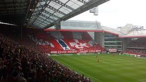 Fußballstadion Stockfoto