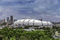 Fußballstadion der Arena DAS Dunas in Geburts-, Brasilien Stockfotos