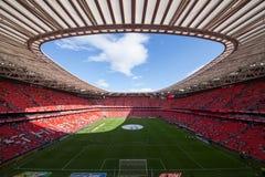 Fußballstadion Sans Mames Lizenzfreies Stockbild