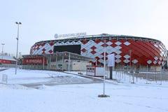 Fußballstadion Spartak Opening-Arena in Moskau Stockbilder