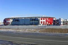 Fußballstadion Spartak Opening-Arena in Moskau Stockbild