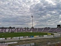 Fußballstadion in Timisoara stockbilder