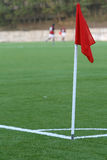 Fußballstadionfußball Lizenzfreie Stockfotos