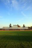 Fußballstandplätze Lizenzfreies Stockfoto