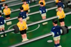 Fußballtabellenspiel. Stockfoto