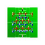 Fußballteam Stockbilder