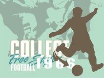 Fußballteam Lizenzfreie Stockfotos