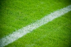 Fußballthema oder -hintergrund Lizenzfreie Stockfotos