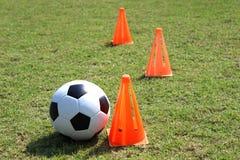 Fußballtraining Lizenzfreies Stockfoto
