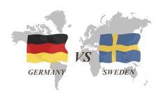 Fußballturnier Russland 2018 Gruppe F Deutschland gegen Schweden Lizenzfreies Stockbild