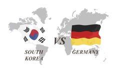 Fußballturnier Russland 2018 Gruppe F Südkorea gegen Deutschland Stockfoto
