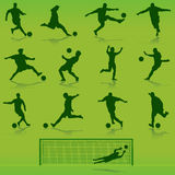 Fußballvektor Stockfoto