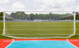 Fußballziel Stockbilder