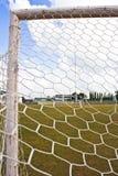 Fußballziel Stockfoto