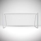 Fußballziel-Vektordesign Lizenzfreies Stockfoto