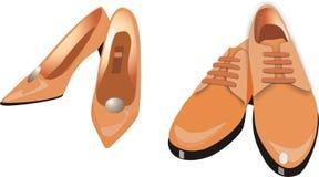 Fußbekleidung Stockfoto