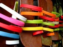 Fußbekleidung-Farben Lizenzfreie Stockfotos