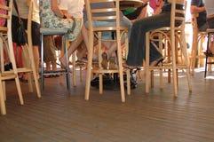 Fußboden-Stufe an einem Stab Stockfoto