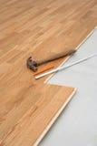 Fußbodeneinbau Lizenzfreies Stockbild