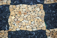 Fußbodenfliesen stockfoto