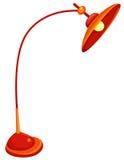 Fußbodenlampe Stockbild