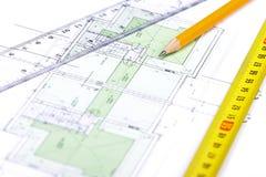 Fußbodenplan [5] Lizenzfreie Stockbilder