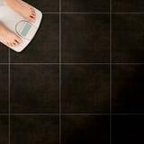 Fußbodenskalen Lizenzfreies Stockbild