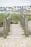 Fußbrücke Lizenzfreies Stockfoto