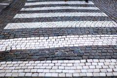 Fußgängerübergang Stockbilder