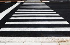 Fußgängerübergang Stockfotografie