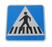 Fußgängerübergangzeichen Stockfotos