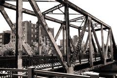 Fußgängerbrücke Stockfotos