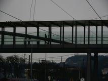Fußgängerbrücke Stockbilder