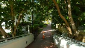 Fußgängerbrücke Miami Beach stock video