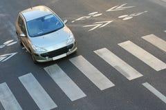 Fußgängergehweg Lizenzfreie Stockfotografie