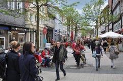 Fußgängerstraße Lizenzfreie Stockfotos