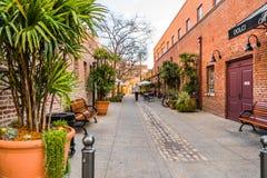 Fußgängerstraße, Pasadena lizenzfreie stockbilder