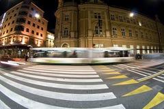 Fußgängerzebraüberfahrt Lizenzfreie Stockfotografie