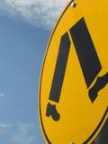 Fußgängerzeichen Lizenzfreie Stockbilder