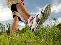 Fußgehen Stockfoto