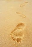 Fußjobsteps Stockbild