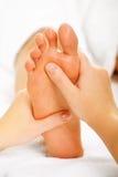Fußmassage Stockbilder