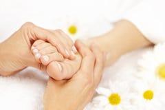 Fußmassage Stockfotos