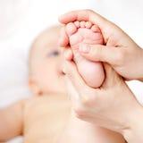 Fußmassage Stockfotografie